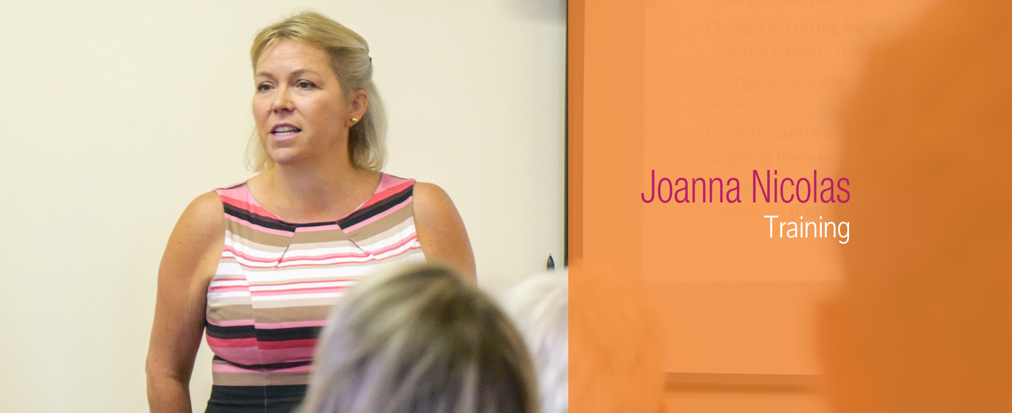 joanna nicolas training header image web